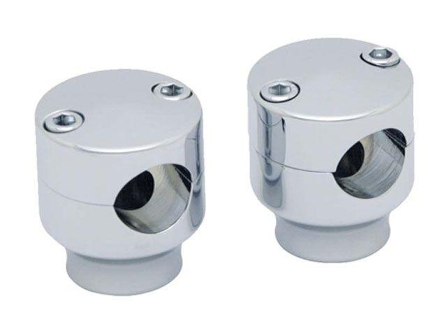 送料無料 コビントン ハーレー汎用 ハンドルポスト関連パーツ 1.5インチライザー(クローム)