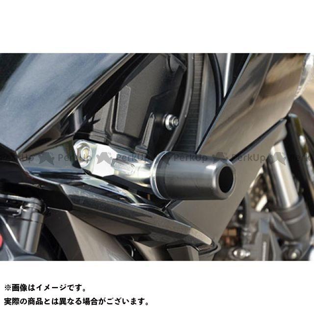 アグラス ニンジャ1000・Z1000SX レーシングスライダー フレーム ジュラコンカラー:ホワイト タイプ:ロゴ有 AGRAS