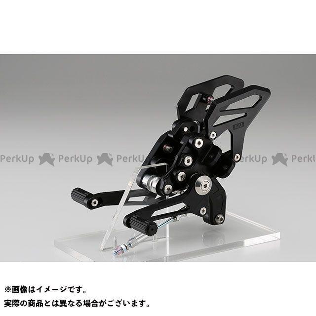 【特価品】アエラ R1200R R1200RS ライディングステップキット BMW R1200R/RS カラー:ブラック AELLA