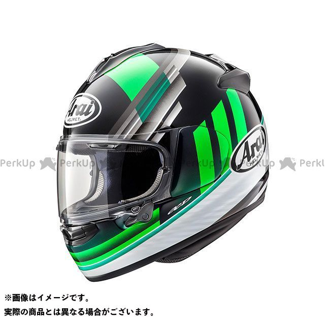 アライ ヘルメット Arai フルフェイスヘルメット VECTOR-X GUARD(ベクターX・ガード) グリーン 59-60cm