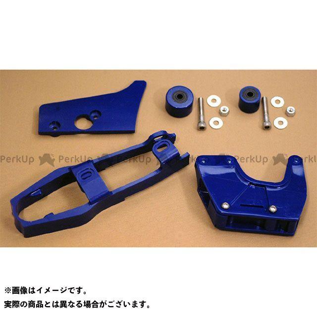 ホットフットモト CR125R CR250R CR500R 1983-84 CR125 1984 CR250/500 チェーンスライダー&ローラーセット(ブルー) HOT FOOT MOTO