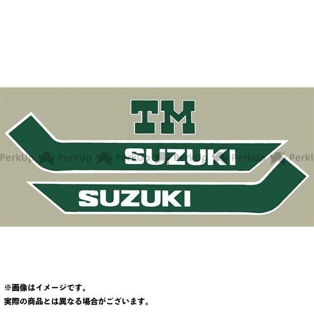 【エントリーで最大P23倍】ビンテージスズキ TM250 1973 TM250 タンクデカールセット VINTAGE SUZUKI