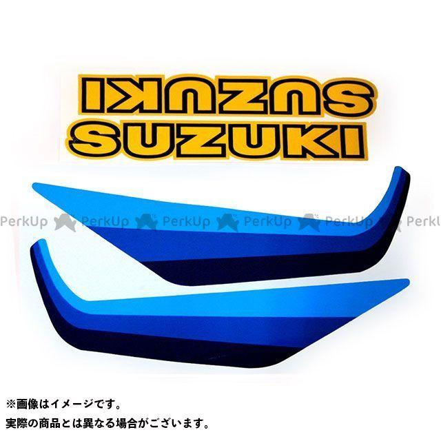 【エントリーで最大P23倍】ビンテージスズキ RM250 1982 RM250 タンクデカールセット(4pcs) VINTAGE SUZUKI