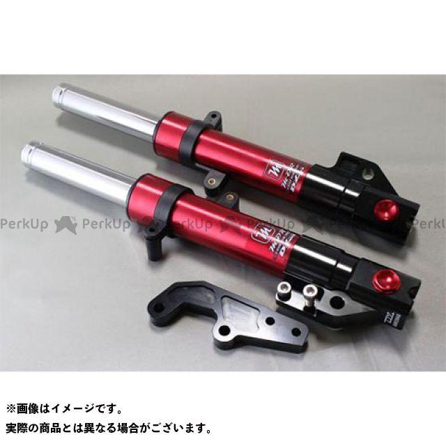 【エントリーで更にP5倍】Mデザイン シグナスX DY Racing&M-DR フロントフォーク(2、3型) カラー:赤×黒 エムデザイン