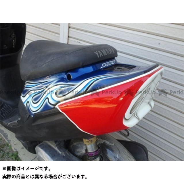 Mデザイン ジョグZR カウル・エアロ JOGーZR レーシングリアカウル 3YK