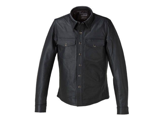 KADOYA カドヤ カジュアルウェア K'S LEATHER L-SHIRT Lシャツ(ブラック) 3L