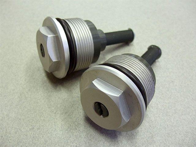 メタルギアワークス CB750F CB900F その他サスペンションパーツ フロントフォークプリロードアジャスター(CB750F/900F) 37パイフォーク対応
