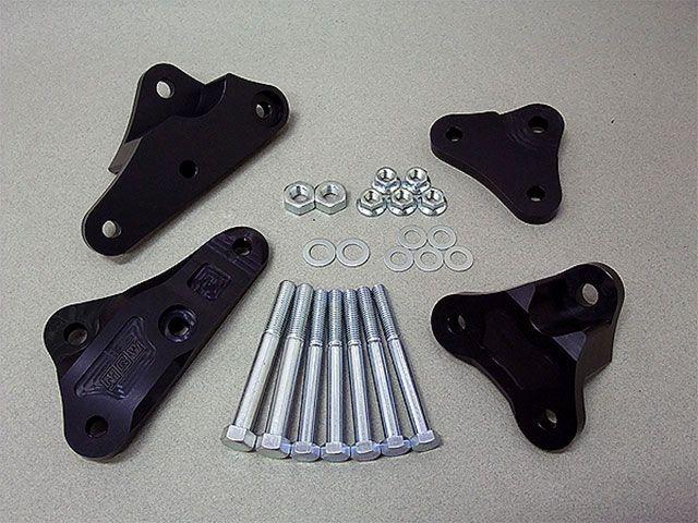 メタルギアワークス CB750F その他エンジン関連パーツ エンジンハンガー(CB750FシリーズALL) ブラック
