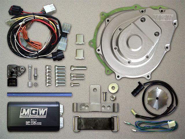 メタルギアワークス CB900F その他電装パーツ デジタル進角KIT(CB900F) シルバー
