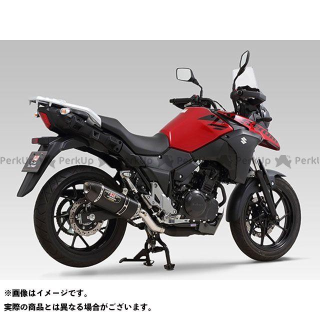 ヨシムラ Vストローム250 Slip-On R-77S サイクロン カーボンエンド EXPORT SPEC 政府認証 SMC YOSHIMURA
