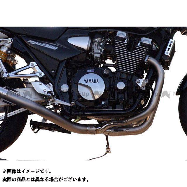 ノジマ XJR1300 エキゾーストパイプ サイレンサーレスキット ファサームSチタン 機械曲げ/色なし