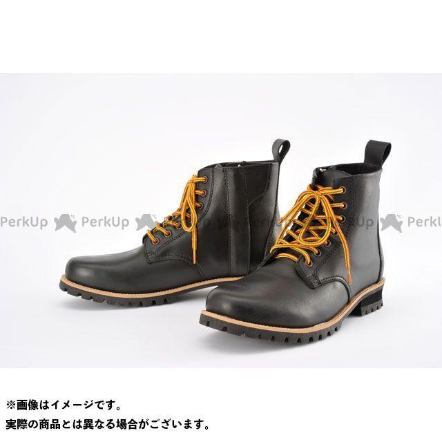 送料無料 ヘンリービギンズ HenlyBegins ライディングブーツ HBS-003 ショートブーツ(ブラック) 25.5cm