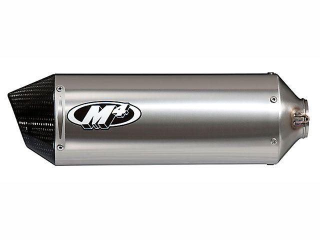 M4パフォーマンス GSX-R600 マフラー本体 スタンダード/レース ステンレスフルエキゾースト SU697* チタンサイレンサー