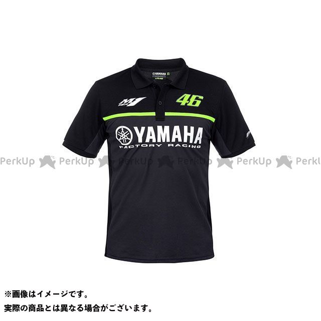 VR46 POLO YAMAHA BLACK EDITION サイズ:M ブイアール46