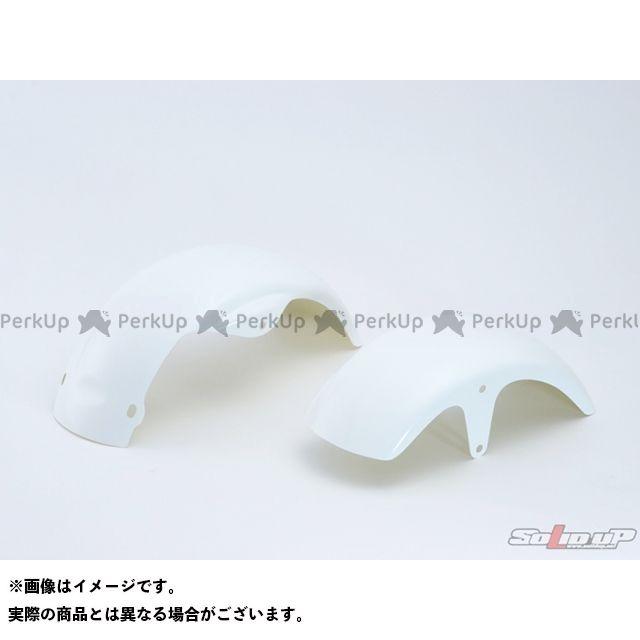 ソリッドアップ モンキー Z50Mモンキー用 リアフェンダー 素材:FRP製白ゲルコート SOLID UP