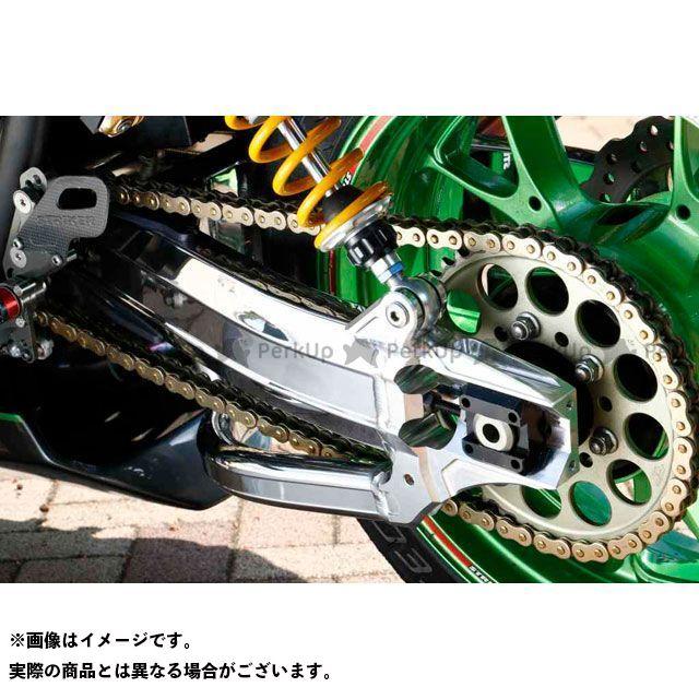 ストライカー ZRX1200ダエグ G-STRIKER スイングアーム パワーディメンション Type-S バフ仕上げ ハードアルマイト STRIKER