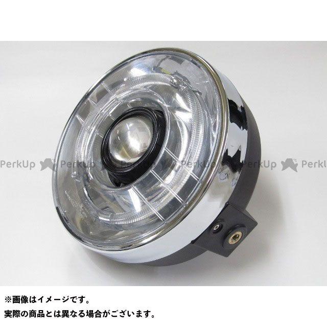 プロテック 汎用 LH-3150 LEDプロジェクターヘッドライト 180φ ネイキッド 丸目タイプ 色温度:6000K PROTEC