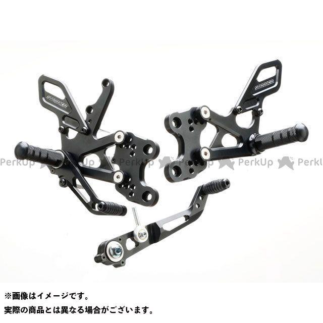 ストライカー GSX-R1000 スペシャルステップキット 6ポジション(ブラック) STRIKER