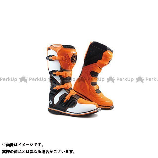 送料無料 スコイコ SCOYCO オフロードブーツ MBM001 モトクロスブーツ(オレンジ) 43/27.5cm
