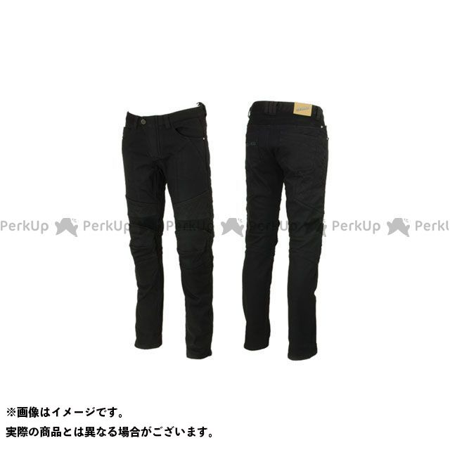 送料無料 スコイコ SCOYCO パンツ P036-2 ウィンター ストレッチライディングパンツ(ブラック) L