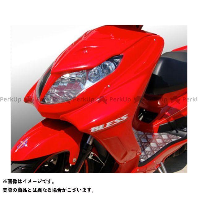 ブレスクリエイション シグナスX カウル・エアロ サイドカウル(FRP 一般色塗装品) 台湾仕様の赤