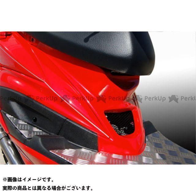 【無料雑誌付き】ブレスクリエイション シグナスX レーシングダクトパネル(FRP 一般色塗装品) カラー:ブラックメタリックX BLESS CREATION