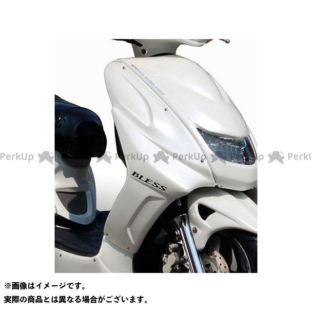 ブレスクリエイション シグナスX カウル・エアロ サイドカウル(FRP 一般色塗装品) ホワイトメタリック1