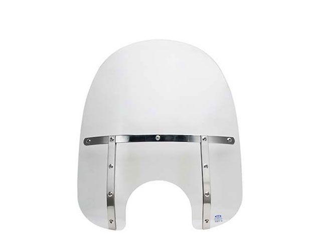 送料無料 メンフィスシェード ダイナファミリー汎用 スクリーン関連パーツ FAT ウインドシールド(クリア) 19インチ