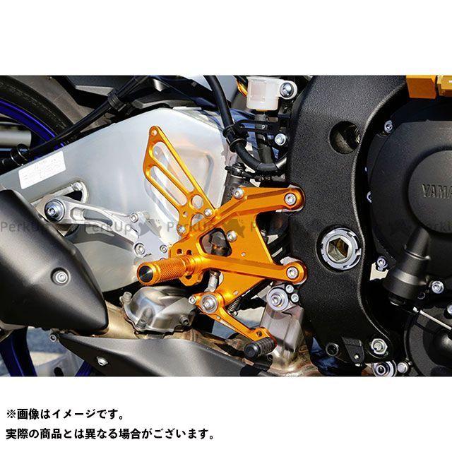 ベビーフェイス MT-10 バックステップキット カラー:ゴールド BABYFACE