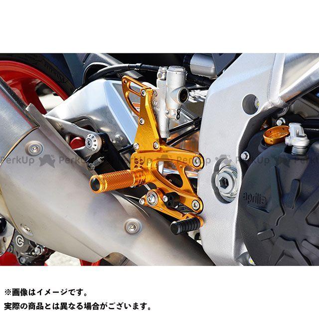 ベビーフェイス RSV4 R RSV4 RF バックステップキット レース(逆) カラー:ブラック BABYFACE