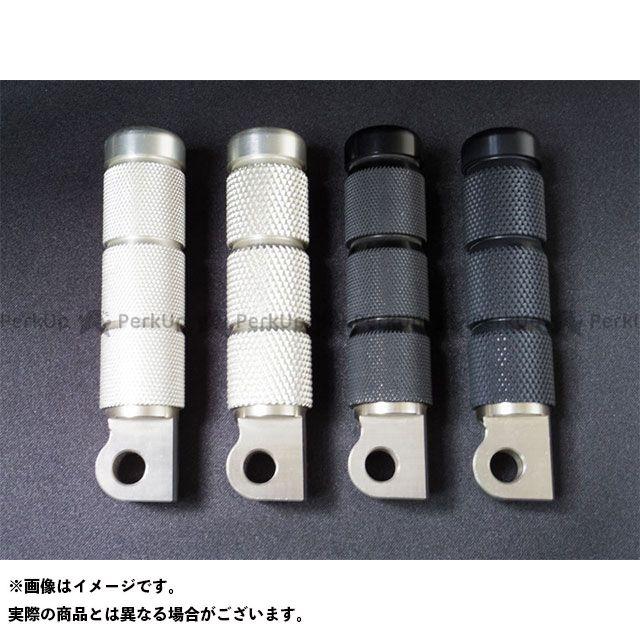 一国サイクルワークス ハーレー汎用 アルミビレットペグ(粗目P1.5) カラー:ブラックアルマイト イチコクサイクルワークス