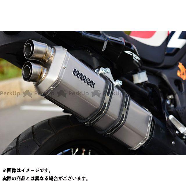 BMS CRF1000Lアフリカツイン GTA パワーサイレント スリップオンマフラー チタンソリッド 政府認証 BMS RACING FACTORY