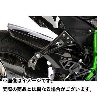 【特価品】マジカルレーシング ニンジャH2(カーボン) リアフェンダー 材質:綾織りカーボン製 Magical Racing