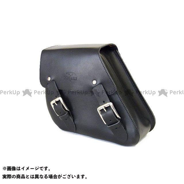 送料無料 ロングライド LONGRIDE ツーリング用バッグ スイングアームバッグ レザー DYNA(ブラック)