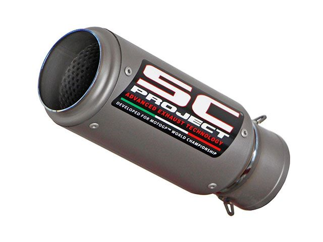 SCプロジェクト 1199パニガーレ 1199パニガーレS パニガーレR インナーサイレンサー コレクターパイプ&CR-T サイレンサー PANIGALE 1199/S/R フルチタンサイレンサー(テールエンドメッシュガード無し)