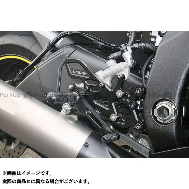 ストライカー YZF-R6 スペシャルステップキット(ブラック) STRIKER
