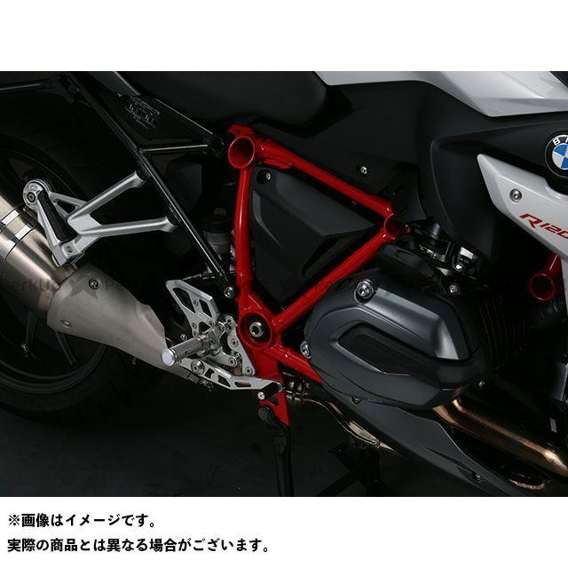 【特価品】アエラ R1200R R1200RS ライディングステップバーキット:カットタイプ(BMW R1200R/RS) カラー:ホワイト サイズ:77mm AELLA