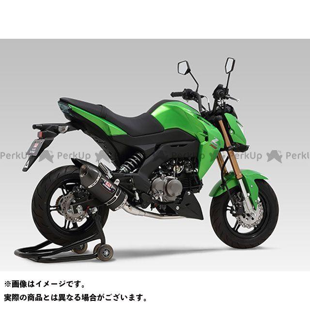 ヨシムラ Z125プロ 機械曲R-77S サイクロンカーボンエンド EXPORT SPEC 政府認証 SMC YOSHIMURA