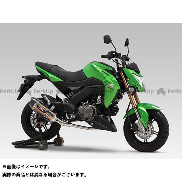 ヨシムラ Z125プロ 機械曲R-77S サイクロンカーボンエンド EXPORT SPEC 政府認証 STBC YOSHIMURA