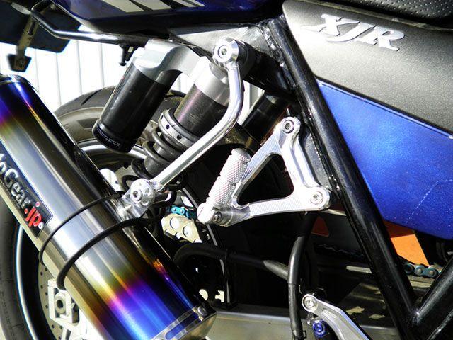 送料無料 モトギア XJR400 XJR400R タンデムステップ関連パーツ タンデムステップキット