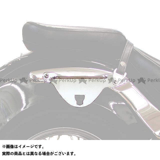 送料無料 Klicbag ドラッグスタークラシック650 キャリア・サポート Klicbagサドルバッグ用ブラケット XVS650A CLASSIC