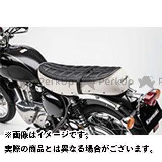 【エントリーで更にP5倍】カワサキ ニンジャ400 レトロシート カラー:ホワイト KAWASAKI