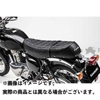 カワサキ ニンジャ400 レトロシート ブラック