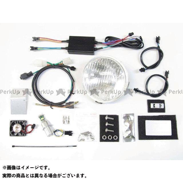 送料無料 プロテック スーパーカブ110 ヘッドライト・バルブ LEDクラシカルヘッドライトキット 12v20w 3000K