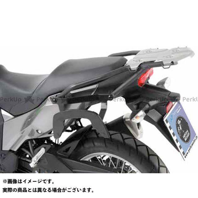 送料無料 ヘプコアンドベッカー ヴェルシスX 250 キャリア・サポート サイドソフトケースホルダー(キャリア)「C-Bow」(ブラック)