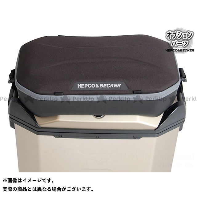 送料無料 ヘプコアンドベッカー HEPCO&BECKER ツーリング用バッグ Xceed / エクシード用オプション トップバック(ブラック)
