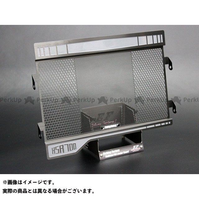 【特価品】エッチングファクトリー XSR700 XSR700用 ラジエターコアガードSB カラー:黒エンブレム ETCHING FACTORY