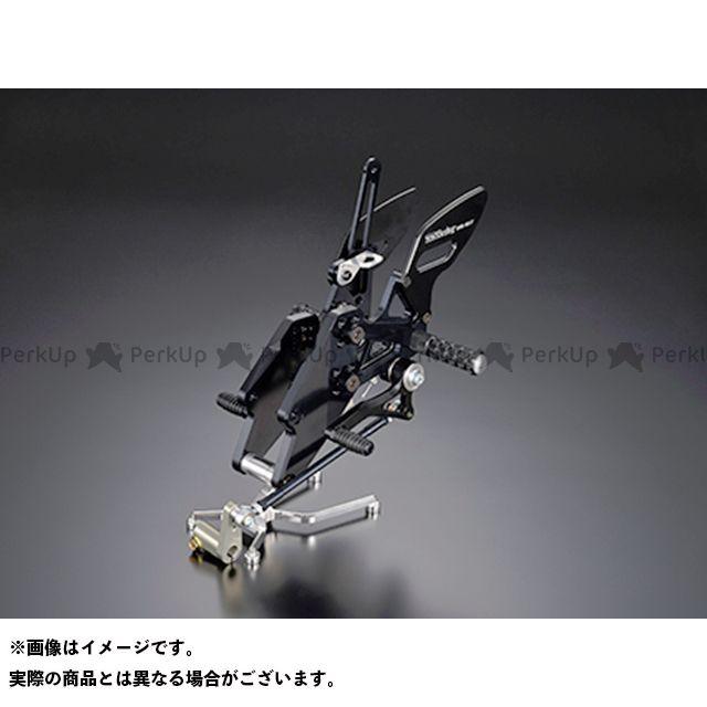 TTS YZF-R25 レーシングステップキット R25 ブラック ティーティーエス