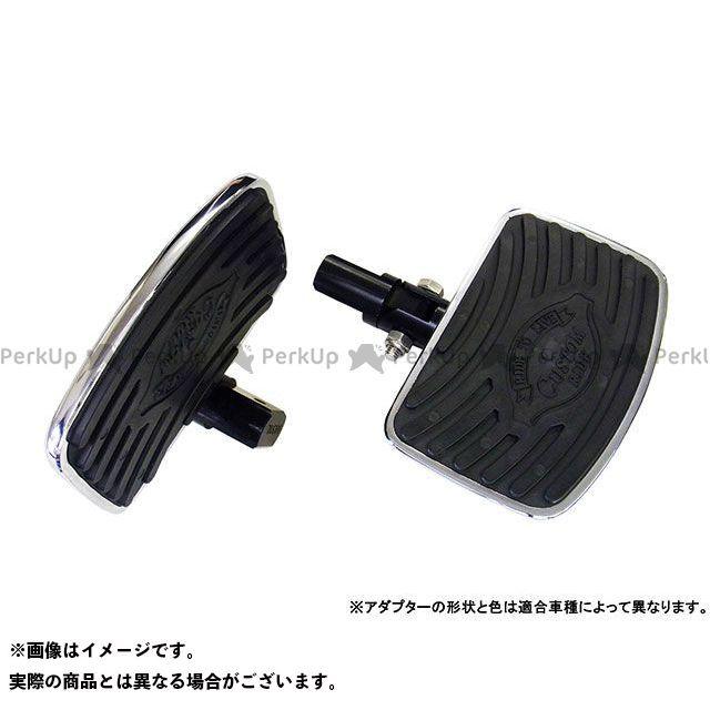 送料無料 H.a.c. Produsts H.a.c. Produsts フロアボード・ステップボード フットボード リア(フォールドアップ) VT750S SHADOW RS、VTX1300 他