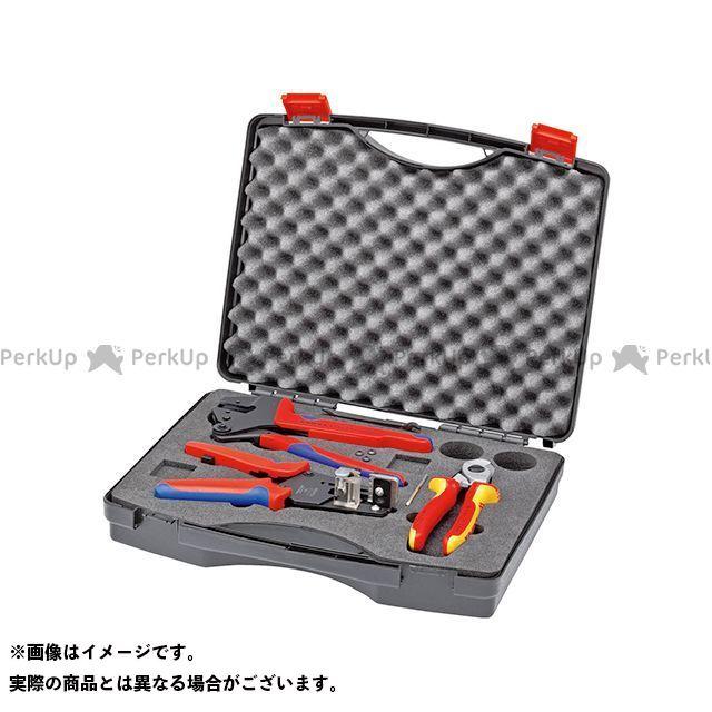 当店在庫してます! KNIPEX 9791-01 店  クニペックス:パークアップ 太陽光発電用工具セット-DIY・工具
